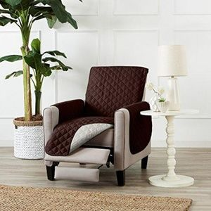 Chocolate & Flax Reversible Recliner Protector
